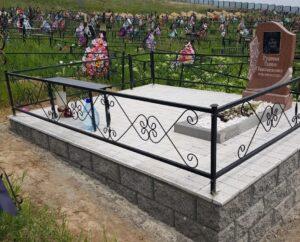 Благоустройство могил в Алматы