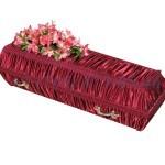 Гроб Драпированный шелк