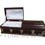 Гроб полированный купить в Алматы